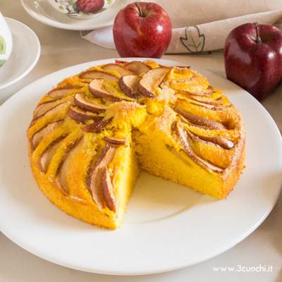 Torta di mele allo Zafferano 3 Cuochi