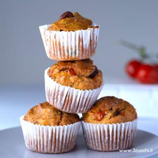 Muffin Mediterranei allo Zafferano 3 Cuochi
