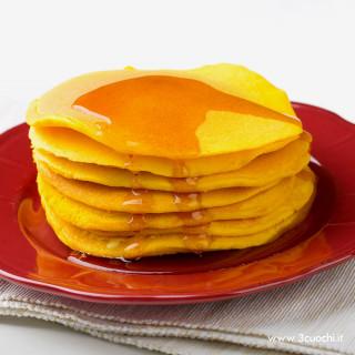 Pancakes allo Zafferano 3 Cuochi