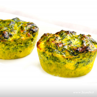 Sformatini di spinaci allo Zafferano 3 Cuochi
