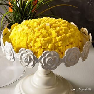 Torta mimosa allo Zafferano 3 Cuochi