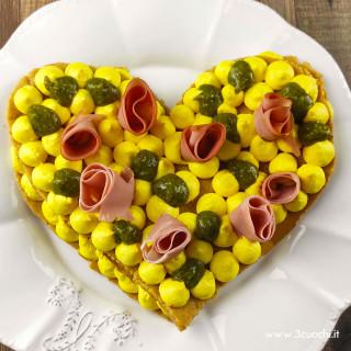 Cream tart salata allo Zafferano 3 Cuochi
