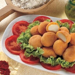 Bocconcini di Mozzarella allo Zafferano
