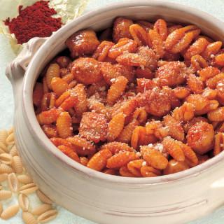 Gnocchetti Sardi con sugo di Salsiccia allo Zafferano