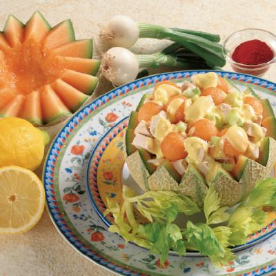 Insalata di Melone e Pollo