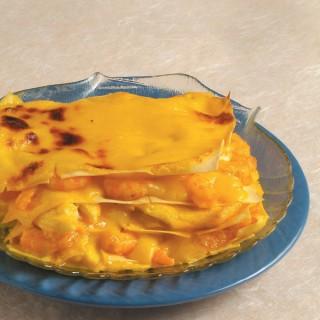 Lasagne di mare allo zafferano