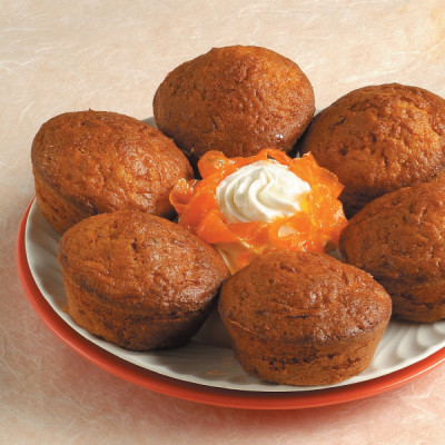 Muffin alla carota e zafferano