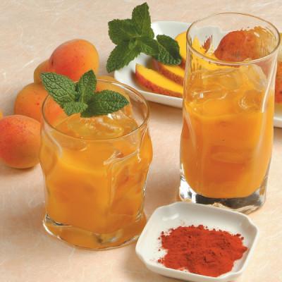 Cocktail tropicale allo zafferano