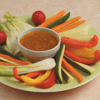 Pinzimonio con salsa gialla