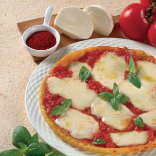 Pizza allo Zafferano