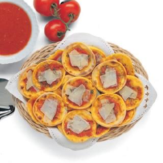 Pizzette alla marinara e Zafferano