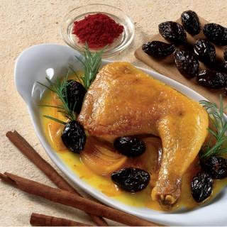 Pollo alle Prugne e Zafferano