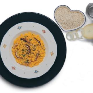 Risotto alla Milanese con Funghi Porcini