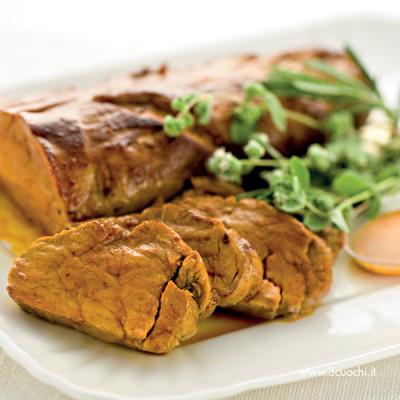 Filetto di maiale allo zafferano