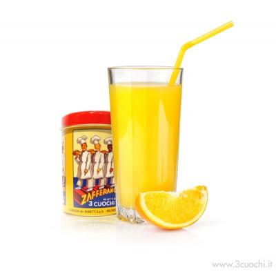 Succo d'arancia allo zafferano